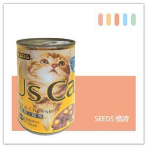 SEEDS US CAT愛貓餐罐400g 鮪魚+起司口味-01