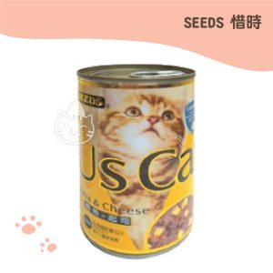 SEEDS US CAT愛貓餐罐400g 鮪魚+起司口味