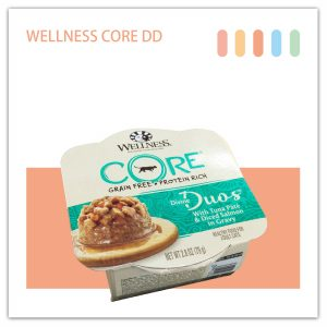 WELLNESS CORE DD寵鮮杯 貓用79g (鮭魚丁+鮪魚泥)