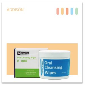 ADDISON Oral Cleansing Wipes鋅.益齒潔(100張.罐)-01