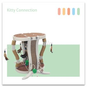 Kitty Connection聰明貓樂高-豪宅組-01