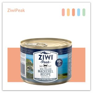 ZiwiPeak DAILY CAT 巔峰 92%鮮肉罐頭-鯖魚mackerel 185G