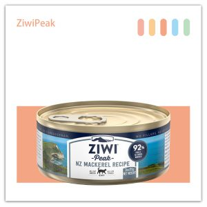 ZiwiPeak DAILY CAT 巔峰 92%鮮肉罐頭-鯖魚mackerel 85G