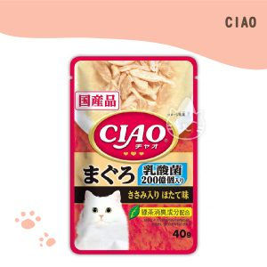 CIAO巧餐包 鮪魚乳酸菌 40g