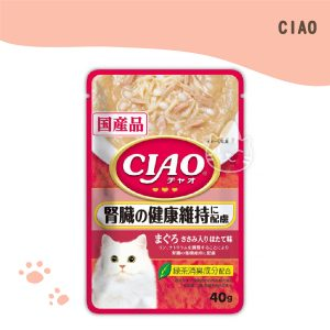 CIAO巧餐包 鮪魚腎臟健康 40g