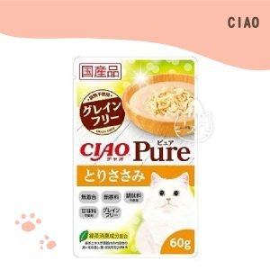 CIAO PURE 餐包 (雞肉) 60g.